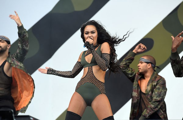 A cantora Leigh-Anne Pinnock do grupo Little Mix (Foto: Getty Images)