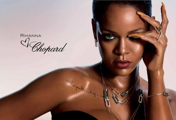 Rihanna vai assinar uma linha de joias para a Chopard (Foto: Reprodução/Instagram)