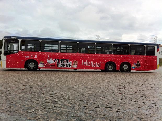Ônibus vai visitar pontos de Mogi para receber doações da campanha O Natal de Todos Nós. (Foto: Vanessa Barbosa/JSL)