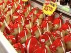 Preço de itens da ceia de Natal varia até 231% em Vitória, diz Procon