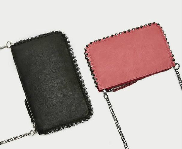 Clutch com corrente, da Zara (Foto: Reprodução)