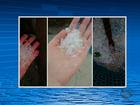 Em vídeo, moradores registram chuva de granizo no Sertão de Pernambuco
