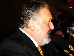 Luiz Alvaro, presidente do Santos, Prêmio do Brasileirão 2012 (Foto: Fernando Martins / Globoesporte.com)