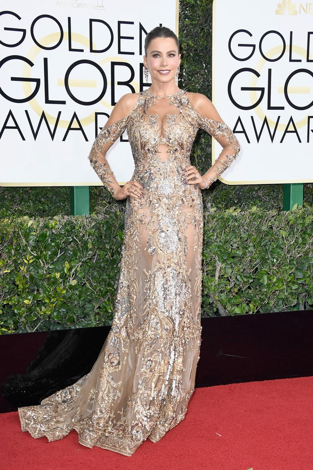 Sofia Vergara no Globo de Ouro (Foto: Getty Images)