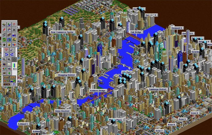 SimCity 2000 (Foto: Divulgação)