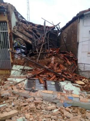 Porto Feliz foi uma das cidades que mais registrou estragos (Foto: Moisés Soares / TV TEM)