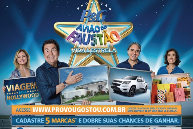 Avião do Faustão com celebridades (Foto: Domingão do Faustão/TVGlobo)