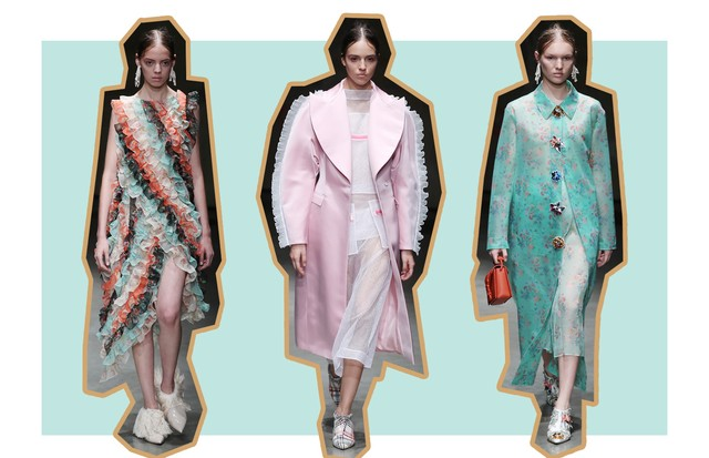 Tons Sorbet: Christopher Kane (Foto: ImaxTree, Antonio Barros e Getty)