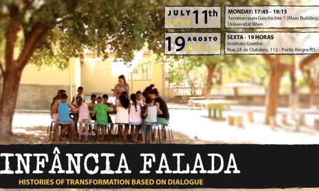 Infância Falada será exibido em Porto Alegre nesta sexta-feira (19) (Foto: Divulgação)
