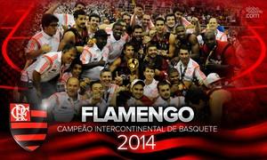 wallpaper flamengo basquete 2014 (Foto: arte esporte)
