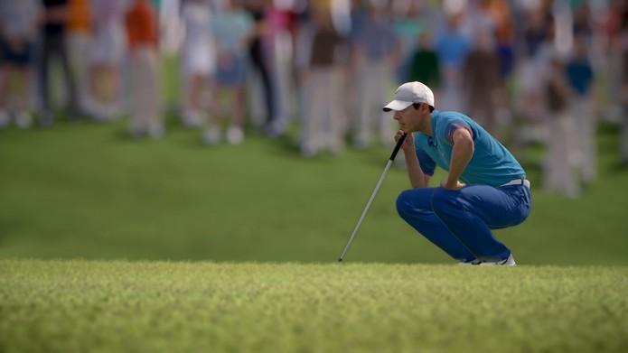Rory McIlroy PGA Tour: jogo aposta em rosto relativamente desconhecido do público brasileiro. (Foto: Divulgação/EA Sports)