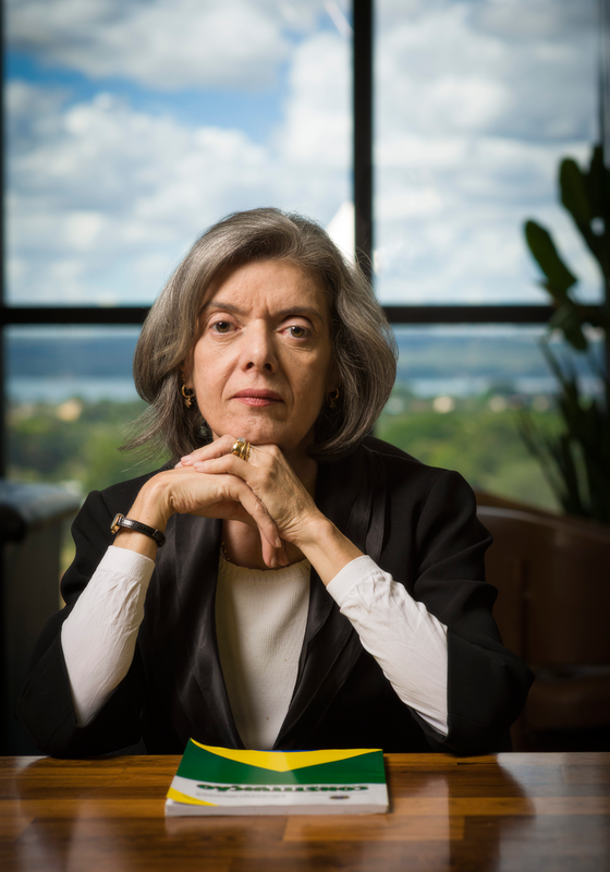 Cármen Lúcia, ministra do Supremo Tribunal Federal (Foto: Diego Bresani/ÉPOCA)