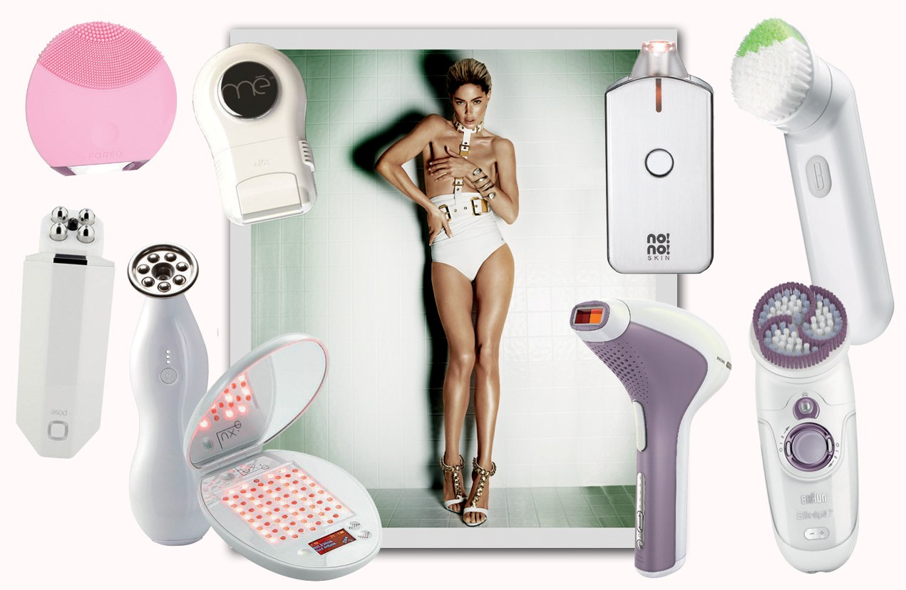 Gadgets de beleza (Foto: Mario Testino / Arquivo Vogue e Divulgação)