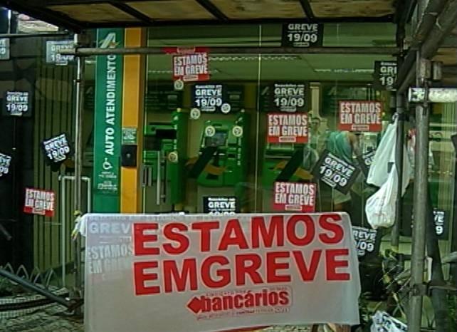 Bancários do Pará (Foto: Reprodução/TV Liberal)