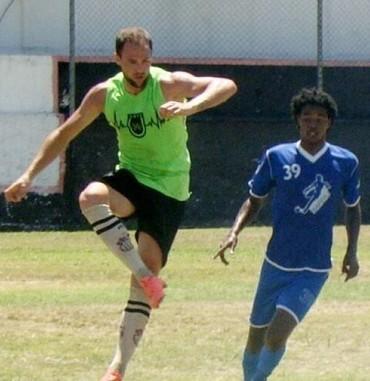 Caio Eltink Flamengo-PI (Foto: Arquivo Pessoal)