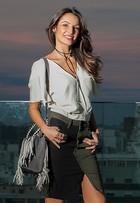 Patrícia Poeta fala de estilo, mostra looks e defende moda mais 'acessível'