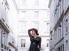 Ex-BBB Gyselle Soares posa para catálogo de moda de estilista francês