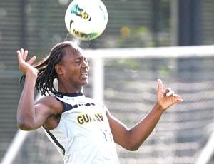 Andrezinho no treino do Botafogo (Foto: Marcos Trisão / Ag. O Globo)