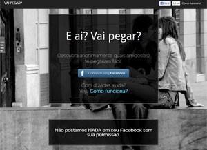 'Vai Pegar' é versão brasileira de 'app' para unir usuários do Facebook que querem se relacionar (Foto: Reprodução)