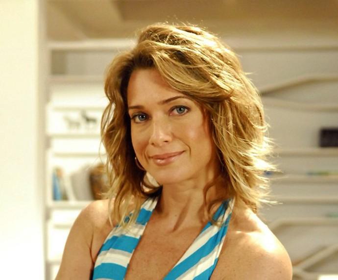 Letícia Spiller usou um tom mel nos cabelos para interpretar a Betina de Viver a Vida  (Foto: João Miguel Júnior)