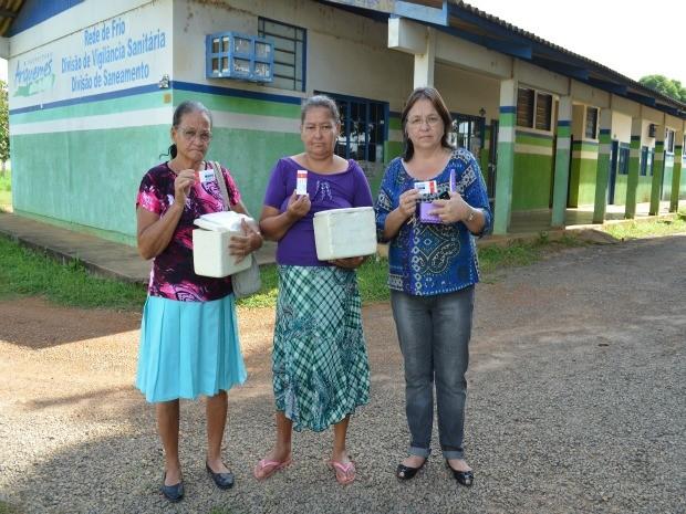 Pacientes recebem metade da quantidade necessária para tratamento (Foto: Eliete Marques/G1)
