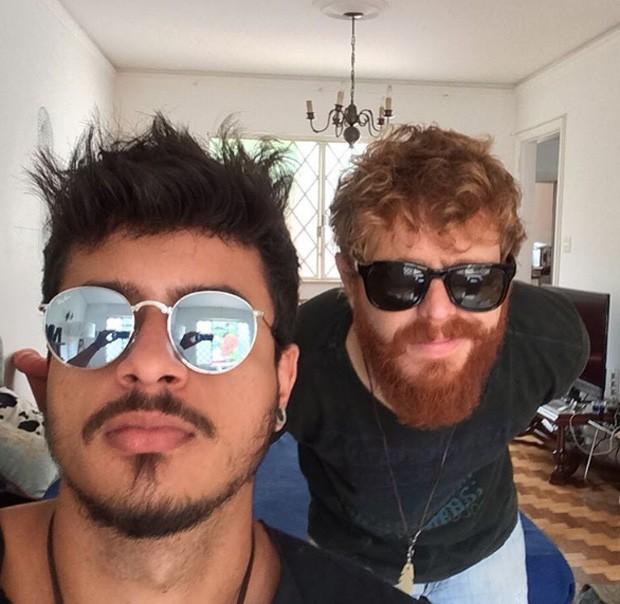 Erick Krominski e Pablo Soares (Foto: Re)