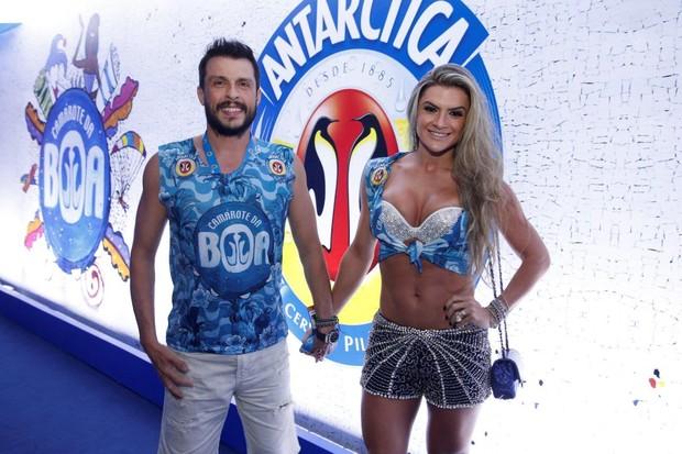 Mirella Santos e Ceará no carnaval do Rio de Janeiro (Foto: Felipe Panfili/ Ag. News)