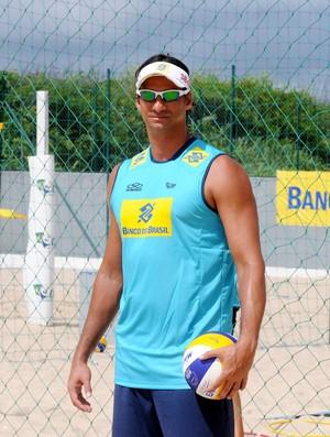 Muso vôlei de praia - Ricardo (Foto: André Durão / Globoesporte.com)