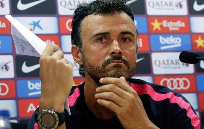 Luis Enrique Barcelona coletiva (Foto: Agência Reuters)