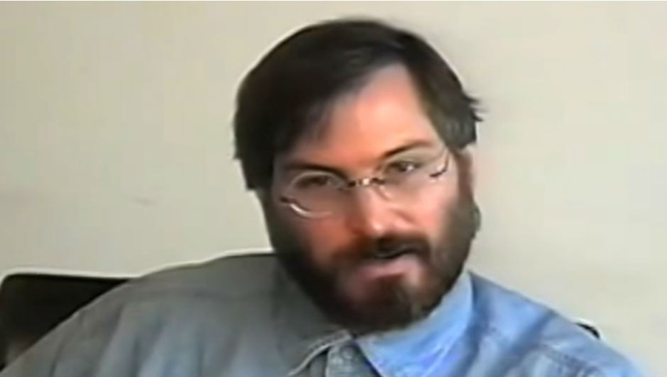 """Steve Jobs: """"eu simplesmente pedia por ajuda"""" (Foto: Reprodução Youtube)"""