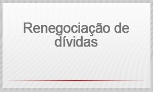 Selo - renegociação de dívidas (Foto: G1)