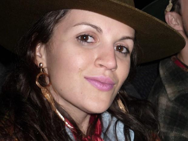 Paula Eckhardt tem síndrome rara (Foto: Arquivo Pessoal)