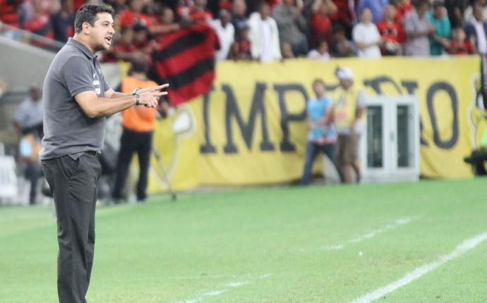 Técnico Marquinhos Santos, do Coritiba (Foto: Divulgação/ Site oficial Coritiba)