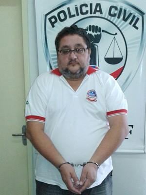 Cláudio Barcelos foi preso nesta segunda-feira (15), em São Luís (Foto: .)