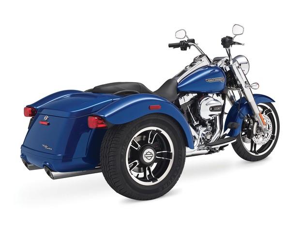 Triciclo Freewheeler da Harley-Davidson (Foto: Divulgação)