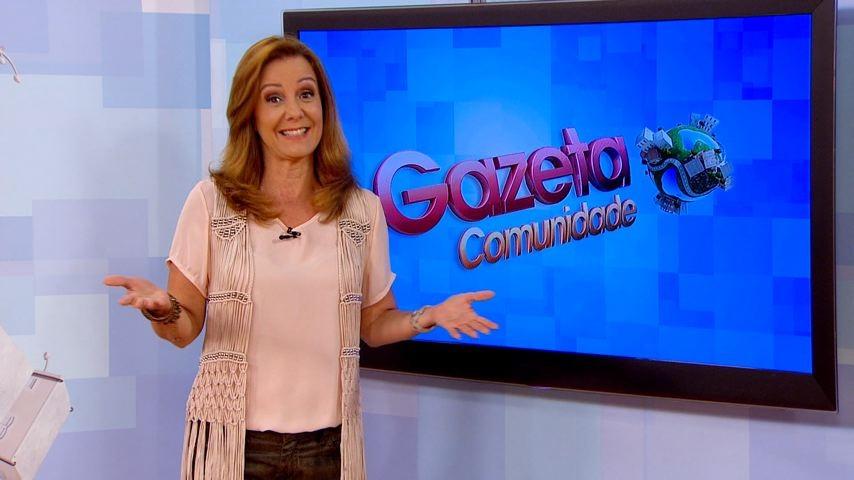 Sandra Freitas comanda o Gazeta Comunidade (Foto: TV Gazeta)