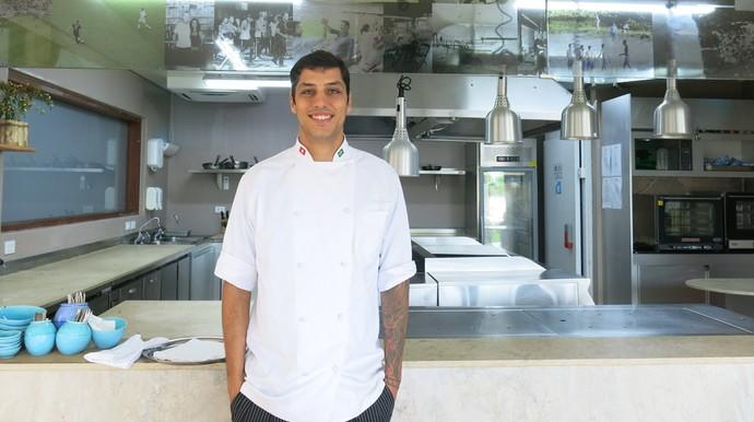 Chef de cozinha é Thiago Paixão Alemanha Bahia (Foto: Victor Canedo)