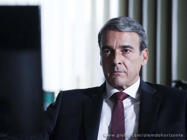 Thomaz rompe acordo com LC (Foto: Inácio Moraes/TV Globo)