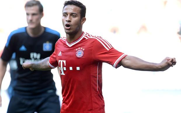 Thiago alcantara Bayern de Munique e Hamburg (Foto: Agência AFP)