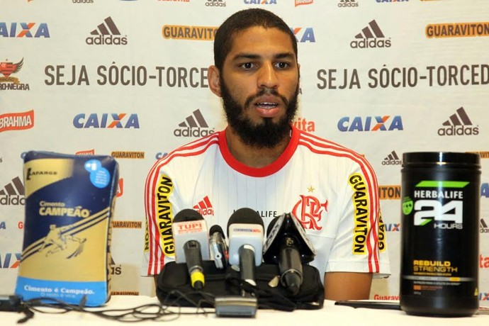 Wallace Flamengo (Foto: Cahê Mota/GloboEsporte.com)