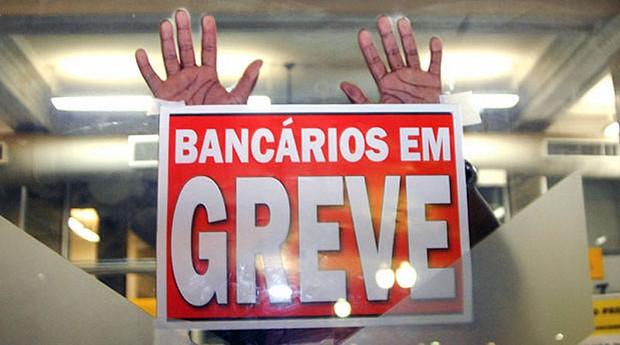 Resultado de imagem para greve bancária