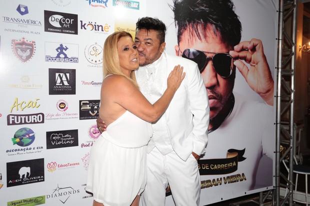 Rita Cadillac e Sebah Vieira (Foto: Rafael Cusato/Brazil News)