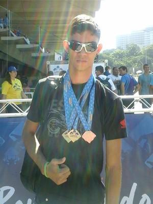 Rodrigo Parreira, atletismo CDDU (Foto: Divulgação/ CDDU Futel)