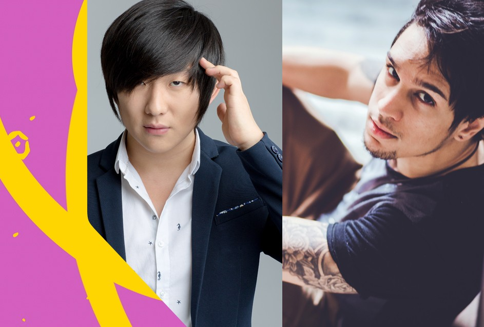Pyong Lee e Lucas Lira apresentam o TVZ (Foto: Divulgao/Multishow)