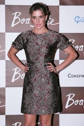 Debora Secco em pré-estreia de filme em São Paulo (Foto: Raphael Castello/ Ag. News)
