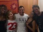 'BBB 16': Adélia, Cacau, Matheus, Juliana e Daniel se reencontram