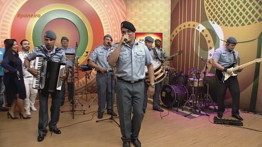 Mão Pra Riba! Conheça a banda formada só por policiais, no Amazonas