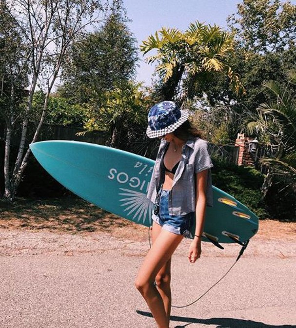 Kaia Gerber (Foto: Reprodução Instagram)