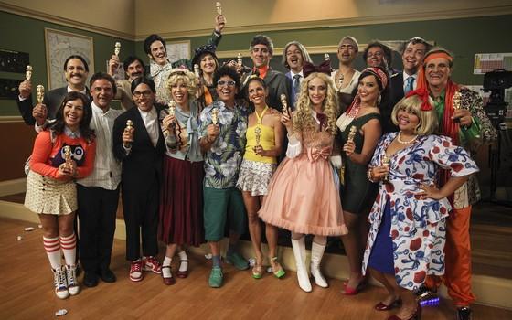 Episódios inéditos da segunda temporada da Escolinha do Professor Raimundo serão exibidos no Viva a partir do dia 6 (Foto: TV Globo/ Divulgação)