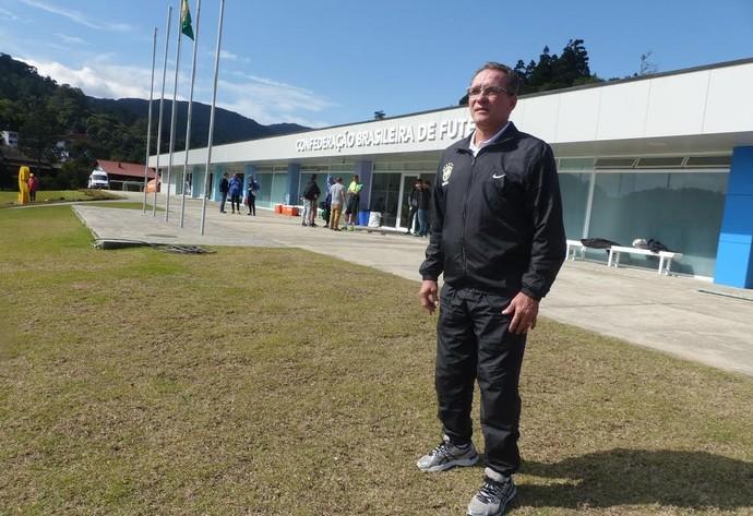 PC Gusmão curso de técnicos da CBF (Foto: Rodrigo Cerqueira)